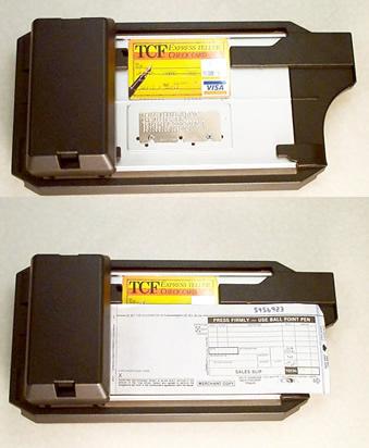 imprint credit card machine